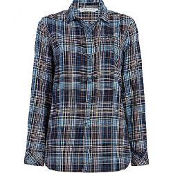 Woolrich Women's Eco Rich Oak Park Twill Shirt Navy