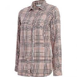Woolrich Women's Eco Rich Oak Park Twill Shirt Violet Wind
