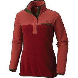 Columbia Women's Mountain Side Pullover Rose Dust / Garnet Red