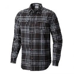 Columbia Men's Flare Gun Waffle Lined Flannel II Shirt Graphite Check