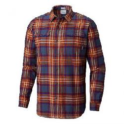 Columbia Men's Flare Gun Waffle Lined Flannel II Shirt Dark Mountain Check