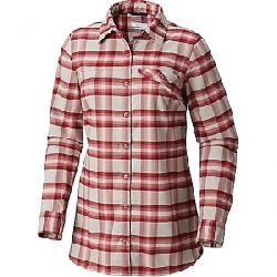 Columbia Women's Silver Ridge Flannel Tunic Rose Dust Plaid