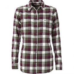 Royal Robbins Women's Lieback Flannel LS Shirt Bayleaf
