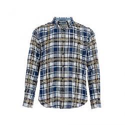 Woolrich Men's Trout Run Classic Flannel Shirt New Royal Blue Multi