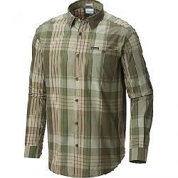 Columbia Men's Boulder Ridge LS Shirt Peatmoss Plaid