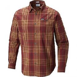Columbia Men's Boulder Ridge LS Shirt Elderberry Large Plaid