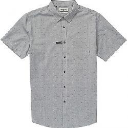 Billabong Men's Sundays Jacquard SS Shirt Grey