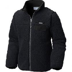 Columbia Youth Mountain Side Heavyweight Full Zip Fleece Top Black