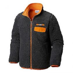 Columbia Youth Mountain Side Heavyweight Full Zip Fleece Top Grill / Solar