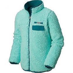 Columbia Youth Mountain Side Heavyweight Full Zip Fleece Top Pixie / Emerald