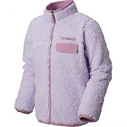 Columbia Youth Mountain Side Heavyweight Full Zip Fleece Top Soft Violet / Violet Haze