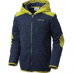 Columbia Youth Boys Birch Woods II Full Zip Fleece Hoodie Collegiate Navy Heather