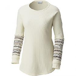Columbia Women's Along The Gorge Thermal Henley Light Bisque Heather