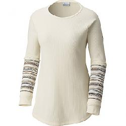 Columbia Women's Along The Gorge Printed Crew Light Bisque