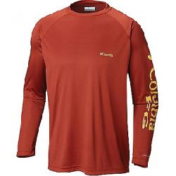 Columbia Men's Terminal Tackle LS Shirt Rusty / Golden Nugget Logo