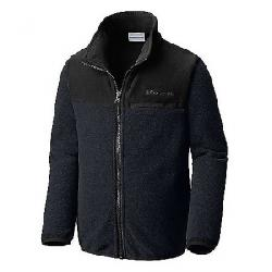 Columbia Youth Mountain Crest Fleece Full Zip Top Black