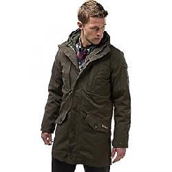 Craghoppers Men's Nat Geo 364 3 in 1 Hooded Jacket Dark Khaki / Parka Green