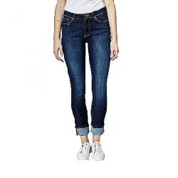 dish Women's Performance Denim Straight and Narrow Jean Classic Indigo