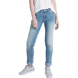 dish Women's Performance Denim Straight and Narrow Jean Fontaine