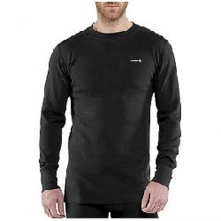Carhartt Men's Base Force Cotton Super Cold Weather Crewneck Top Black