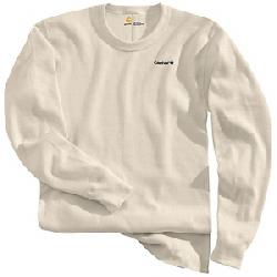 Carhartt Men's Base Force Cotton Super Cold Weather Crewneck Top Natural