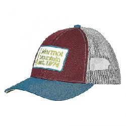 Marmot Retro Trucker Hat Burgundy