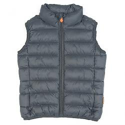 Save The Duck Boy's Signature Lightweight Vest 1177 Grey Black