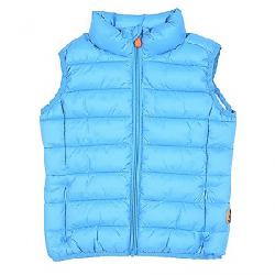 Save The Duck Boy's Signature Lightweight Vest 1187 Iceberg Blue