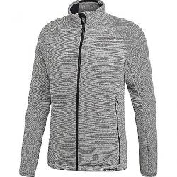 Adidas Men's Knit Fleece Jacket Medium Grey Heather