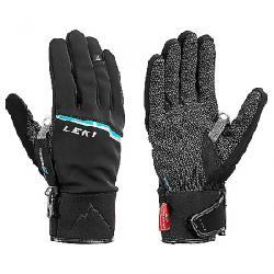 Leki Tour Precision V Glove Black/Cyan
