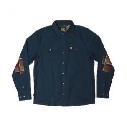 HippyTree Men's Del Rey Woven Shirt Navy