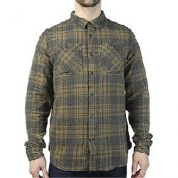 Gramicci Men's General Purpose Flannel Plaid Shirt Olive Stone