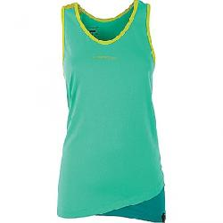 La Sportiva Women's Dihedral Tank Mint / Emerald