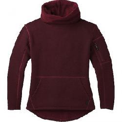 Smartwool Women's Hudson Trail Pullover Fleece Sweater Tibetan Red