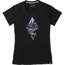 Smartwool Women's Merino 150 Diamond Dreaming Tee Black