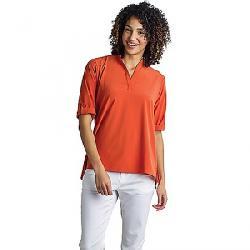 ExOfficio Women's Kizmet 3/4 Sleeve Top Paprika