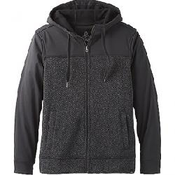 Prana Men's Zion Full Zip Hoodie Charcoal