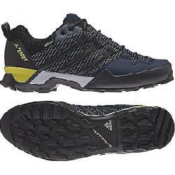 Adidas Men's Terrex Scope GTX Shoe Core Blue / Black / Eqt Yellow