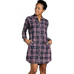 Toad & Co Women's Duniway LS Dress Mauve