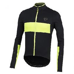 Pearl Izumi Men's ELITE Escape Thermal LS Jersey Black / Screaming Yellow 2