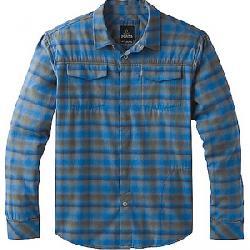 Prana Men's Miki LS Flannel Shirt Coal