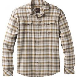 Prana Men's Miki LS Flannel Shirt Dark Khaki