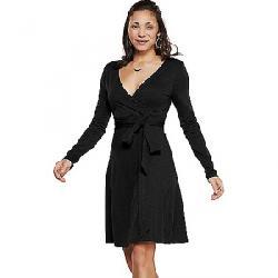 Toad & Co Women's Cue Wrap Dress Black