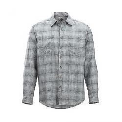 ExOfficio Men's BugsAway Poros Plaid LS Shirt Pebble