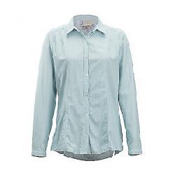 ExOfficio Women's BugsAway Zeta Stripe LS Shirt Malachite