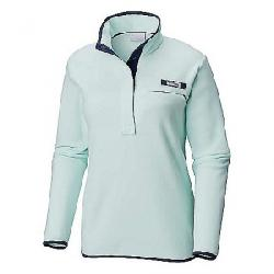 Columbia Women's Harborside Fleece Pullover Sea Ice / Collegiate Navy