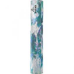 Prana Printed Microfiber Yoga Mat Blue Graceful