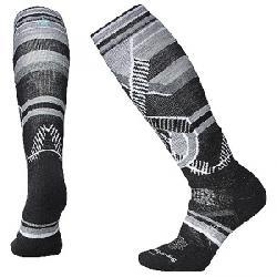 Smartwool Women's PhD Ski Medium Sock Charcoal Pattern