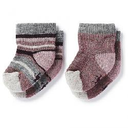 Smartwool Baby Bootie Batch Sock - 2 Pack Nostalgia Rose Heather