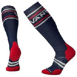 Smartwool PhD Slopestyle Medium VANS Stripes Sock Deep Navy